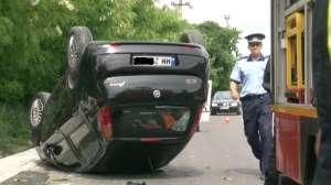 Rona de Sus: Trei persoane rănite în urma unui accident rutier
