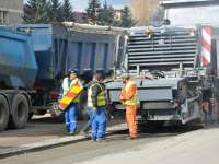 S-au reluat lucrările la DN 18, în zona Borșa