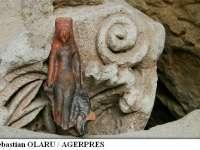 Sălaj: O statuetă de epocă romană a zeiței frumuseții - Venus, descoperită în castrul de la Buciumi