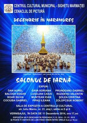 Salonul de iarnă - Expoziție a Cenaclului de Pictură a Centrului Cultural Sighetu Marmației