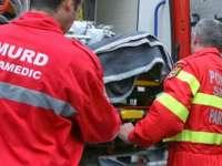 SĂPÂNŢA: Două persoane au ajuns la spital în urma unui accident rutier