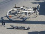 SĂPÂNȚA - Biciclist beat, accidentat de către un autoturism care circula regulamentar
