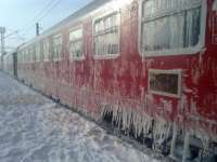 Șapte trenuri au fost anulate joi dimineață, din cauza gerului