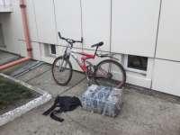 SARASĂU: Ţigări de contrabandă transportate cu bicicleta