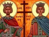 SĂRBĂTOARE - Astăzi se prăznuiesc Sfinţii Împăraţi Constantin şi Elena