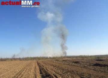 SĂRBĂTORI DE FOC pentru Pompierii Maramureșeni - Trei incendii în ziua de Paști și două în Ajun, dintre care două în Sighet