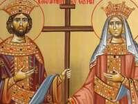 SĂRBĂTORI: Sfinții Mari Împărați și întocmai cu Apostolii, Constantin și mama sa, Elena