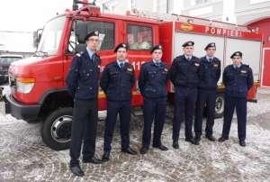 """Șase studenți ai Facultății de Pompieri din cadrul Academiei de Poliție """"Alexandru Ioan Cuza"""" în practică la ISU SIGHET"""