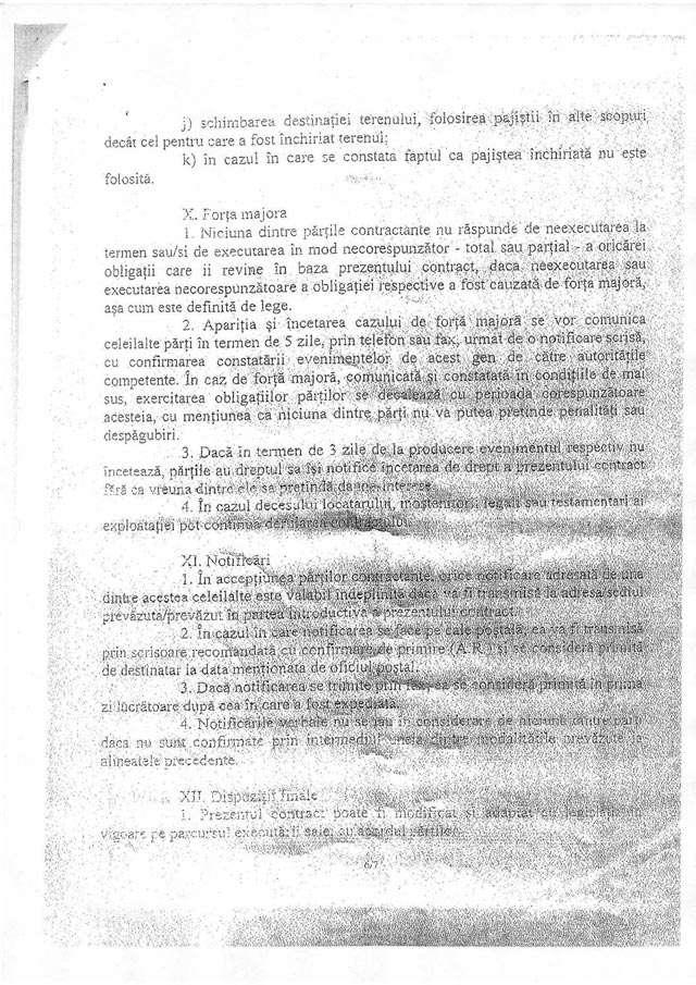 DOSARUL SUBVENȚIILOR APIA - Cum i-a lăsat Ovidiu Nemeș pe iepeni fără 99 de hectare de teren printr-un contract dubios de închiriere a pășunilor
