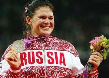 Scandal în lumea sportului: atleta rusă Daria Pişcealnikova, vicecampioană olimpică la Londra, suspendată 10 ani pentru dopaj