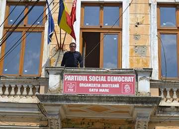 Scandal la PSD Satu Mare: Senatorul Marian a preluat controlul asupra sediului PSD