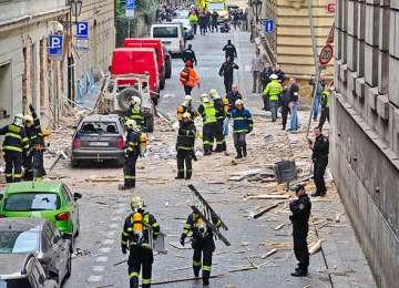 Se intampla si la case mai mari. Explozie de gaze in Praga