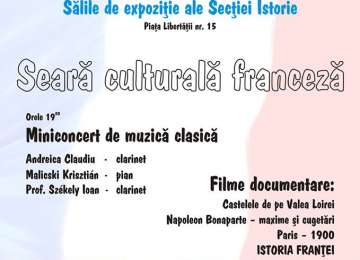 Seara culturala franceza la Sighetu Marmatiei