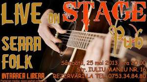 Seară de Folk la StagePub Sighet