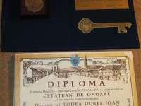 ȘEDINȚĂ SOLEMNĂ DE CL -  Prof. univ. dr. Szabo Istvan și prof. dr. Todea Dorel au primit titlul de Cetățean de Onoare al municipiului Sighetu Marmației