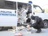 SIGHET: 21.000 de pachete de ţigări, confiscate de poliţiştii de frontieră