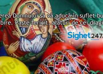 Sighet 247 vă urează un sincer Hristos a Înviat!