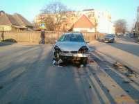 SIGHET: Accident de circulație pe fondul neacordării de prioritate (FOTO)