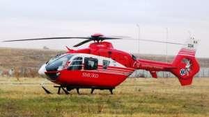 SIGHET - ACCIDENT DE MUNCĂ GRAV: Victima a fost transportată la Cluj cu un elicopter SMURD