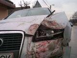 SIGHET: Accident provocat pe fondul neacordării de prioritate