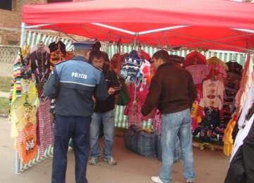 SIGHET: Amenzi, bunuri confiscate și mandate de aducere aplicate în târgul organizat în municipiu