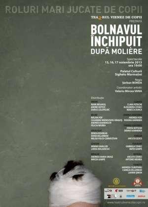 """SIGHET: """"Bolnavul Inchipuit"""", dupa Moliere la Sala de spectacole a Palatului Culturii"""