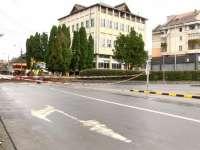 SIGHET - Circulație închisă între sensul giratoriu de la Pompieri și până la intersecția cu strada Ivasuc