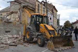 SIGHET: Clădirea de pe strada Plevnei, nr 12 va fi demolată