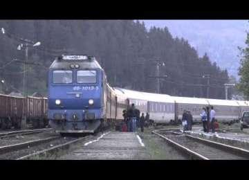 SIGHET - CLUJ: Trenul... tras de cai