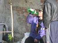 SIGHET - Consum de băuturi alcoolice în plină stradă