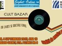 SIGHET: Cult Bazar - Schimb de cărți și discuri vinil
