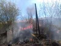 SIGHET: Doi morți într-un incendiu produs la o casă de pe str. Dragoș Vodă