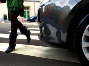 SIGHET: Femeie lovită pe trecerea pentru pietoni. În urma accidentului aceasta a fost transportată la Spitalul Județean de Urgență Baia Mare