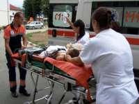 SIGHET: Femeie transportată la Spitalul Judeţean Baia Mare în urma unui accident rutier