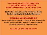 SIGHET: Festivalul de muzică și artă medievală / folk va avea loc între 20-21 august 2016