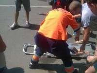 SIGHET - Fetiţă în vârstă de 3 ani, accidentată de un șofer neatent