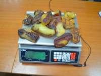 SIGHET: FOTO & VIDEO - Contrabandă cu chihlimbar în valoare de 80.000 euro