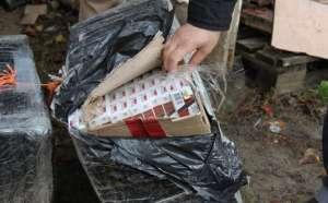 SIGHET: Ţigări de contrabandă depistate în anexa unui imobil