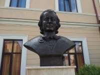"""SIGHET - În fața Liceului Pedagogic """"Regele Ferdinand"""" a fost dezvelit bustul filosofului prof. dr. Ion Bălin"""