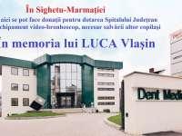 """SIGHET - """"În memoria lui Luca"""": Se pot face donații pentru dotarea Spitalului județean Maramureș cu un video-bronhoscop pentru copii"""