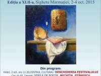 SIGHET: În perioada 2-4 octombrie se va desfăşura Festivalul Internaţional de Poezie. Aflaţi programul evenimentului