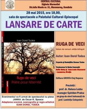 SIGHET: Lansare de carte la sala de spectacole a Palatului Cultural-Episcopal