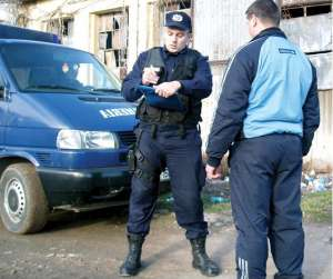SIGHET: Persoane sancţionate de jandarmi pentru tulburarea ordinii publice