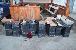 SIGHET - Peste 26.000 de pachete de țigări în valoare de aproximativ 235.000 de lei, confiscate de polițiștii de frontieră