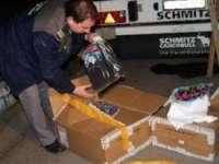 SIGHET - Peste 900 articole de îmbrăcăminte confiscate de către Polițiștii de frontieră