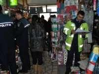SIGHET: Poliţiştii au acţionat pentru prevenirea şi sancţionarea comerţului ilicit