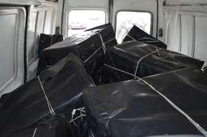 SIGHET: Polițiștii de frontieră au confiscat 15.000 pachete cu ţigări de contrabandă, după ce au primit un pont printr-un telefon anonim
