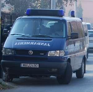 SIGHET - Scandal în plină stradă aplanat de jandarmi