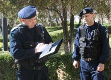 SIGHET: Tânăr amendat de jandarmi după ce a provocat scandal în parc