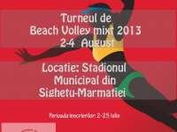 Sighet: Turneu de Beach-Volley Mixt